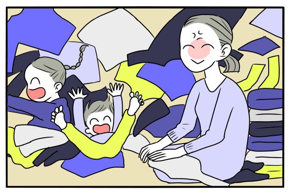 ママ 夏休み 家事