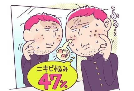 """ママも気になる中高生男子の""""うぶヒゲ""""。思春期ニキビの""""巻き込み剃り""""の悩みも!"""