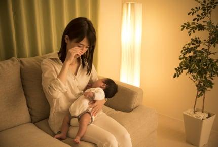 育児でいちばんつらかったことは?夜泣き、病気、義両親との関係……。ママたちが涙した出来事とは