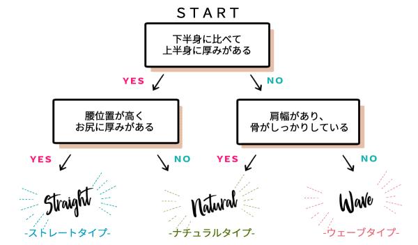 骨格診断チャート 二神弓子先生