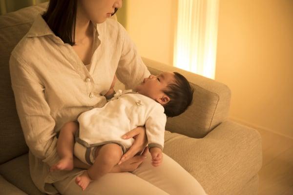 赤ちゃんと二人きりの夜が怖い