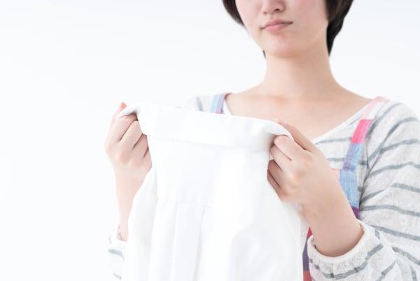 給食着、下着や靴下と洗う?
