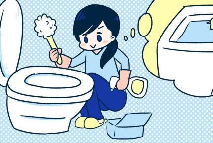 """トイレ掃除は""""お風呂の前""""と決めています!ママたちの理由とは?"""