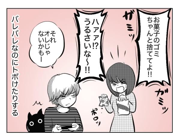 10歳の息子と猫 3話_1コマ