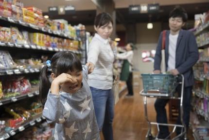 子どもがスーパーなど出先でグズっているとき、他人に声をかけられたらママはどう思う?