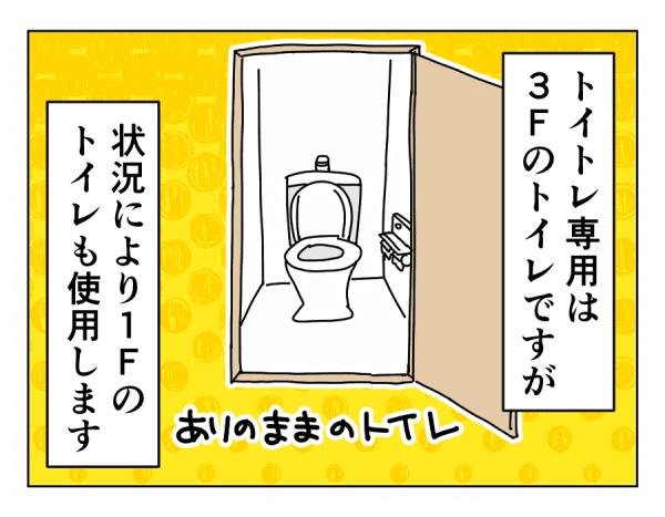 トイトレのタメにバージョンアップしたトイレ以外のトイレの場合