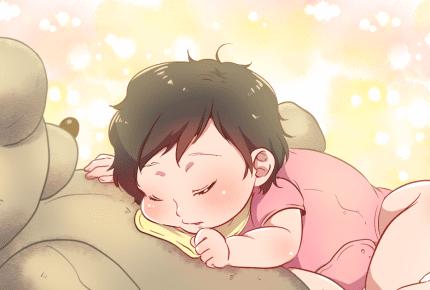 こんな体勢でよく眠れるものだ!子どもの寝相の悪さは心配無用