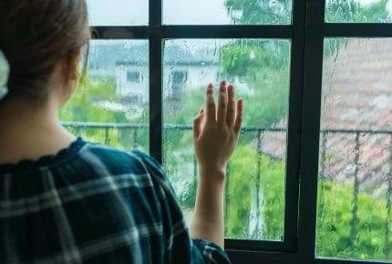 大きな台風がくるのに、家族を残して旦那は泊まり込みの仕事へ。不安な気持ちでいっぱいのママができること