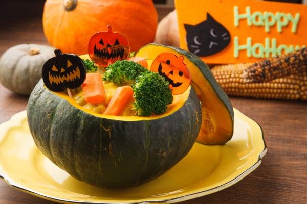 かぼちゃのグラタン