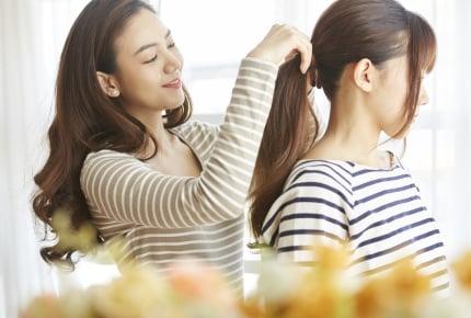 ポニーテールで前髪の横の毛を出す意味は?子どもにやめさせる方法はある?