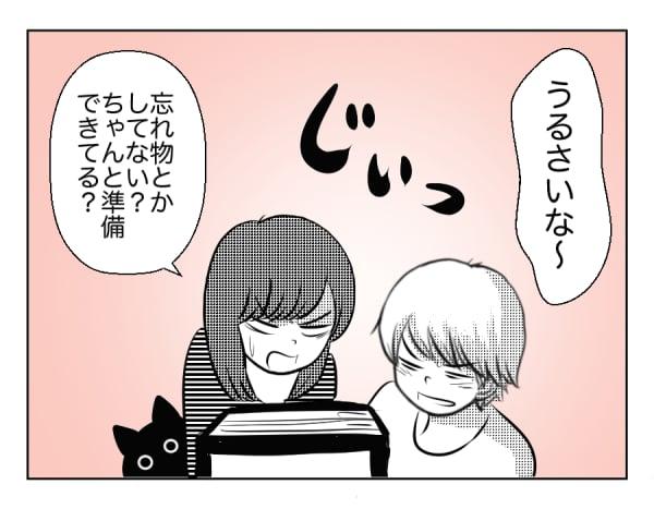 10歳の息子と猫21話3コマ