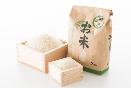 子どもの成長と共にどんどん増えていくお米の消費量。家族で月に何キロのお米を食べていますか?