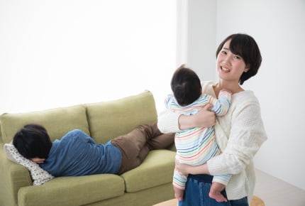 ワンオペ育児がツライ。旦那にママの大変さをわかってもらうには?