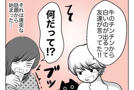 【10歳息子と猫】思春期前の男子への性教育 #4コマ母道場