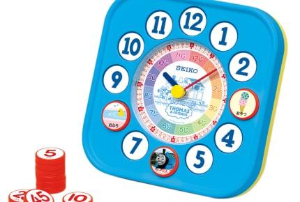大好きなトーマスと遊びながら時計の読み方を身につけよう!『きかんしゃトーマスとなかまたち』知育時計