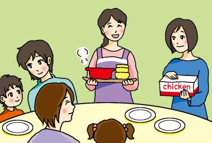 午前中からママ友親子が遊びにくる!お昼ご飯はウチで準備するべき?