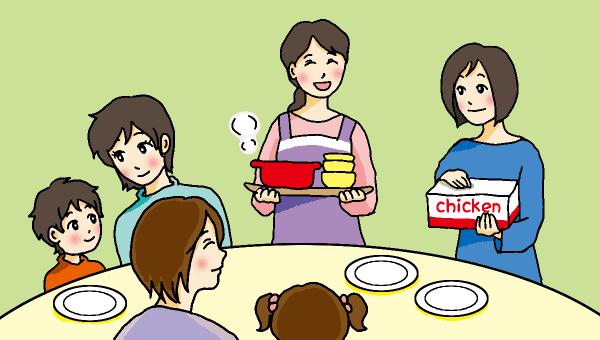 ママとも昼食1