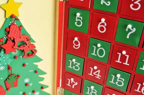 義妹の子にアドベントカレンダーを開けられた