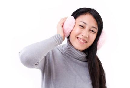 いくら寒いからとはいえ30代のママがモコモコ耳当てをしてはダメですか?