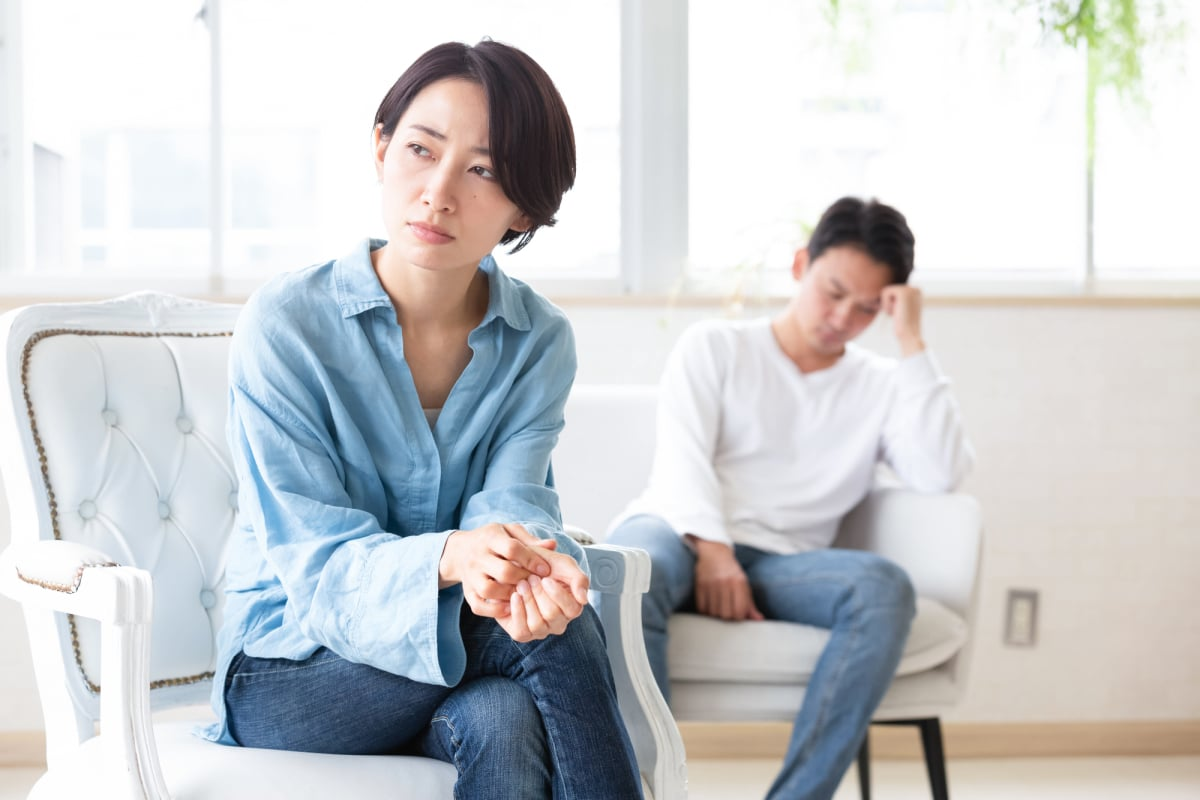 結婚生活のストレス対処法