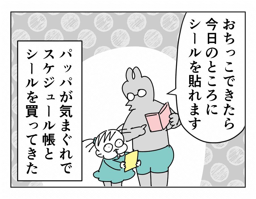 【続・トイトレ完了までの道】