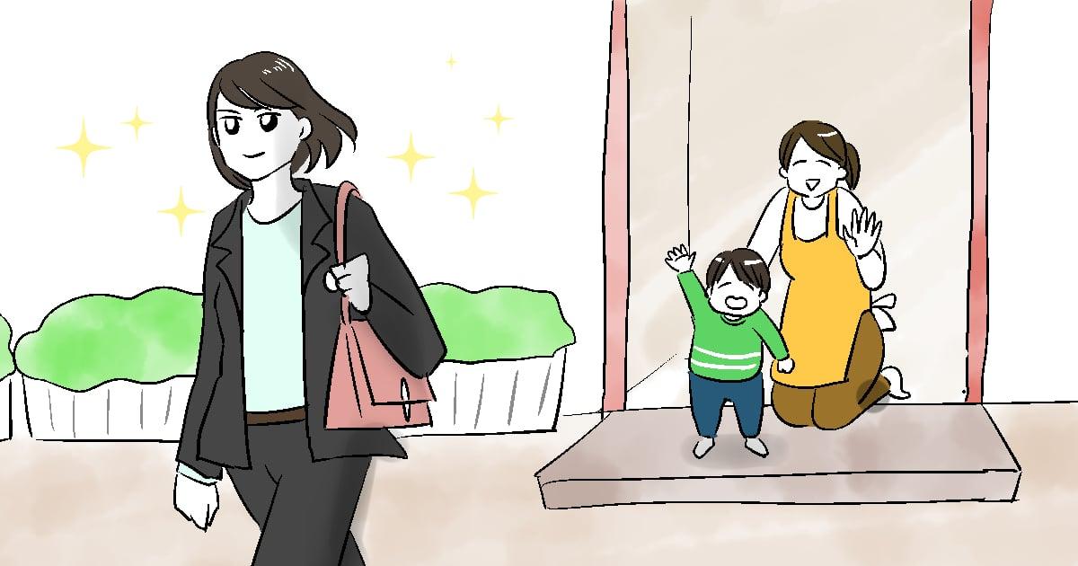 正社員ママはバタバタでクタクタ……それでも仕事を続けられる秘訣は?02