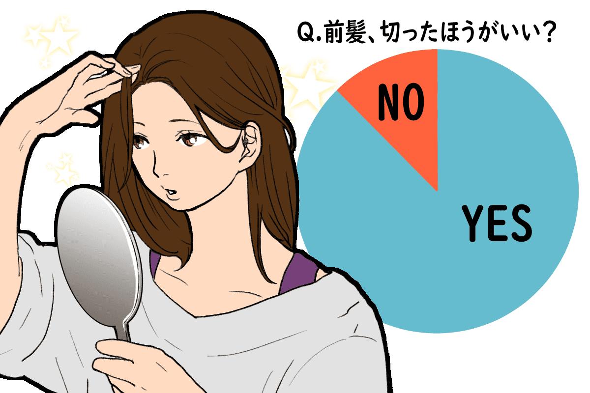 前髪切るべき?
