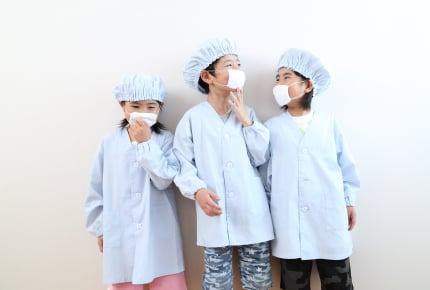 小学校の給食当番のとき、ガーゼのマスクを使う?それとも使い捨て?