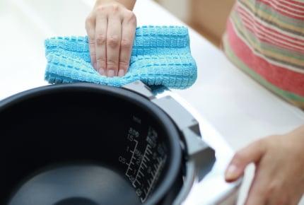 炊飯器のお手入れ方法。内釜以外も毎日洗うもの?