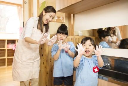 幼稚園や保育園で子どもが手を洗った後に拭くタオル。何枚用意している?