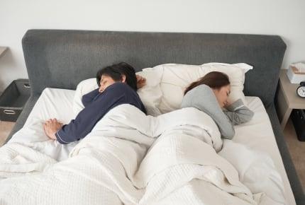 旦那さんと一緒に寝ていますか?子どもの年齢で変わる夫婦の寝室事情
