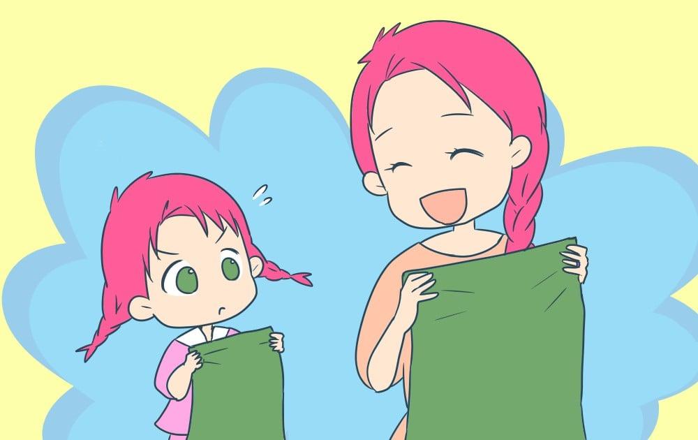 洗濯物の干し方に性格は出る? 2