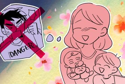 【後編】離婚から半年経って、「子どもから父親を奪ったのでは」と不安になってきた……ママたちから届いた言葉たち