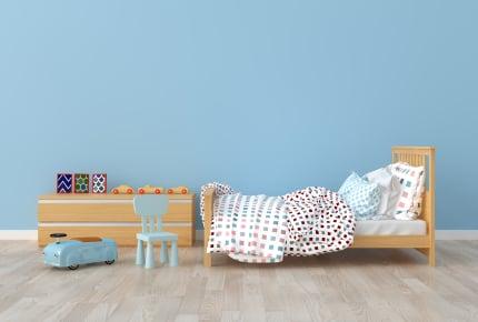 小学2年と年少の子どもの部屋がそれぞれ5.2帖。これでは狭すぎる?