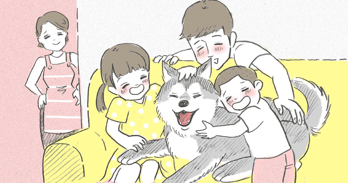 家族が犬を飼いたがる2