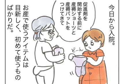 【てんやわんや妊婦】出産に向けて入院!トイレで気を付けること #4コマ母道場