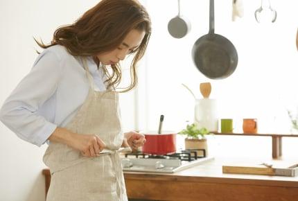 家にいるときエプロンをつけている?約50%以上のママさんたちの答えは……!