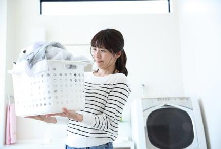 洗濯する前の衣類などはどこに保管している?洗濯カゴ?洗濯機に直接入れる?