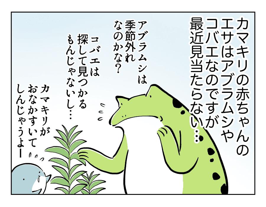 虫好き男子4_コバエ捕獲劇1