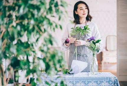 いつも花が飾られている部屋はいかが?「お花上手」なママたちのマル秘テクニックを大公開!