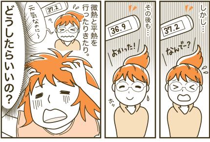 朝は元気だった娘が学校で発熱!微熱を繰り返す困った状況…どうしよう