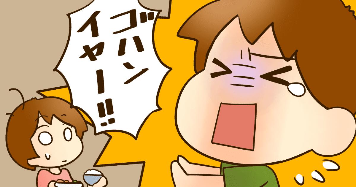 ご飯が気に入らないと癇癪を起こす5歳児。こんなときどうすればいいの?1