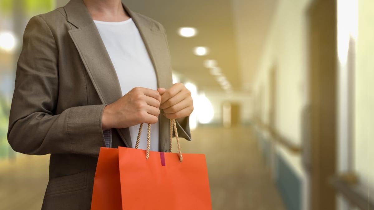買い物 紙袋