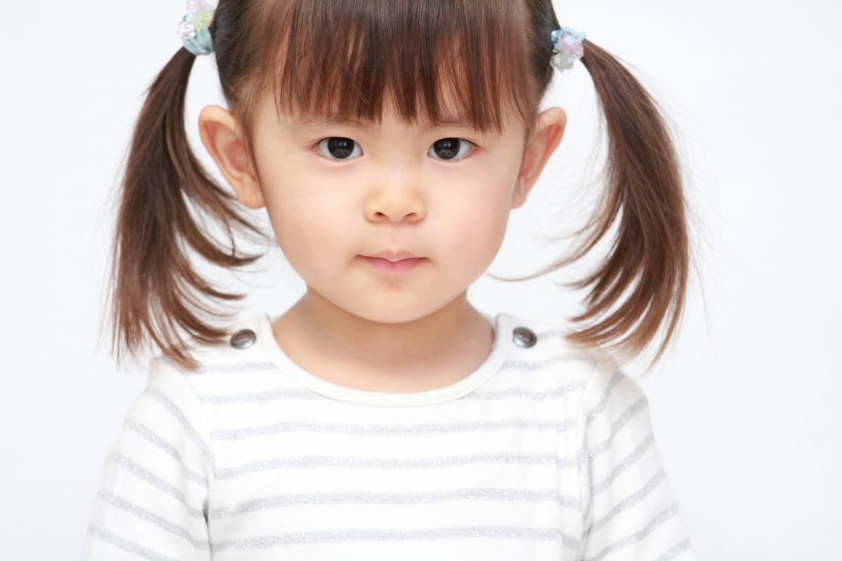 幼児の笑顔(2歳児)