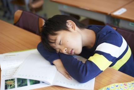 小学生でも半数以上が睡眠不足!睡眠が足りていない理由の第1位は?