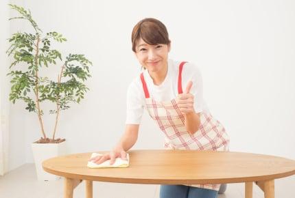 食卓やダイニングテーブルをきれいに拭きたい!除菌や消毒に気をつかうママたちはどうしている?