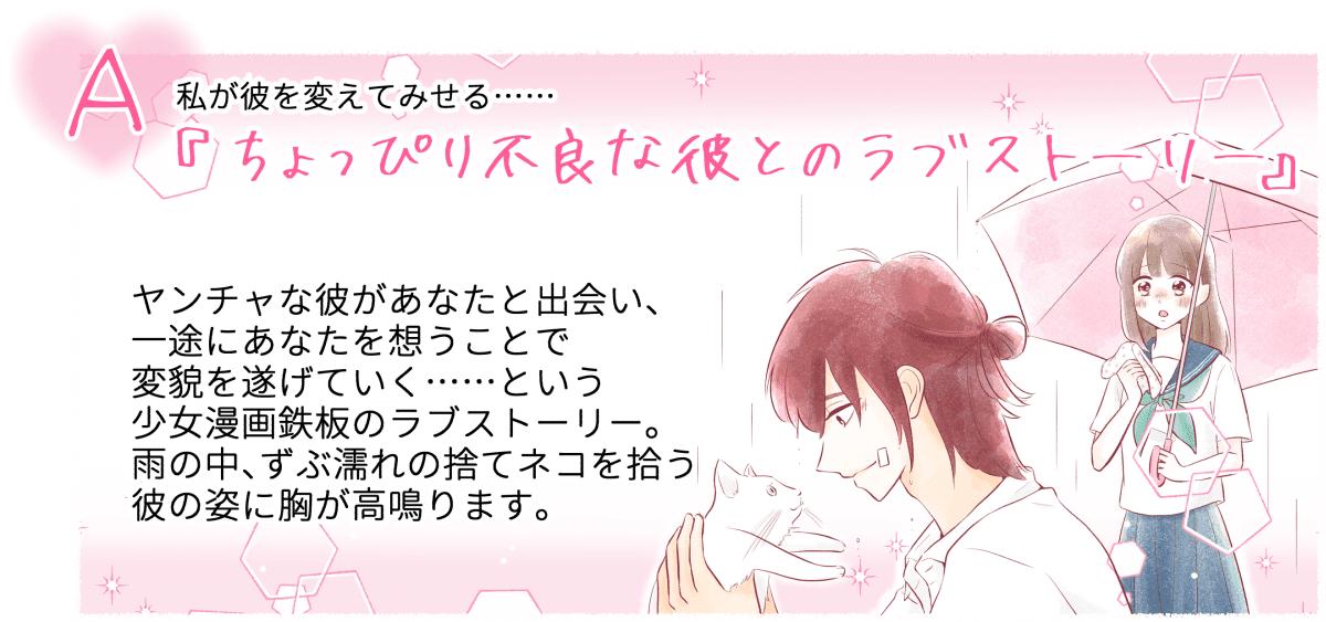少女漫画チャート診断2-1