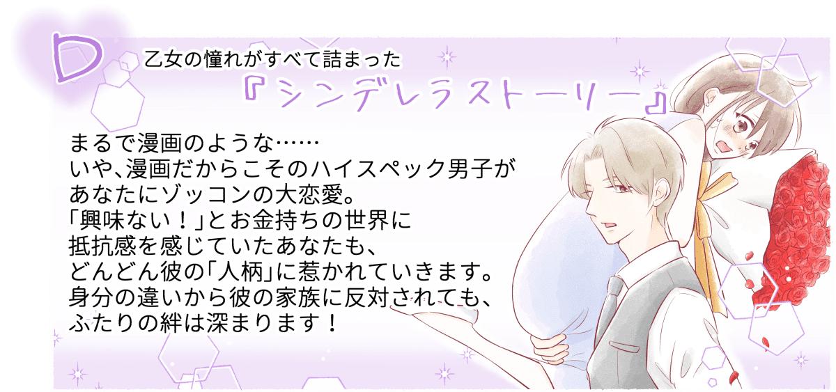 少女漫画チャート診断3-2