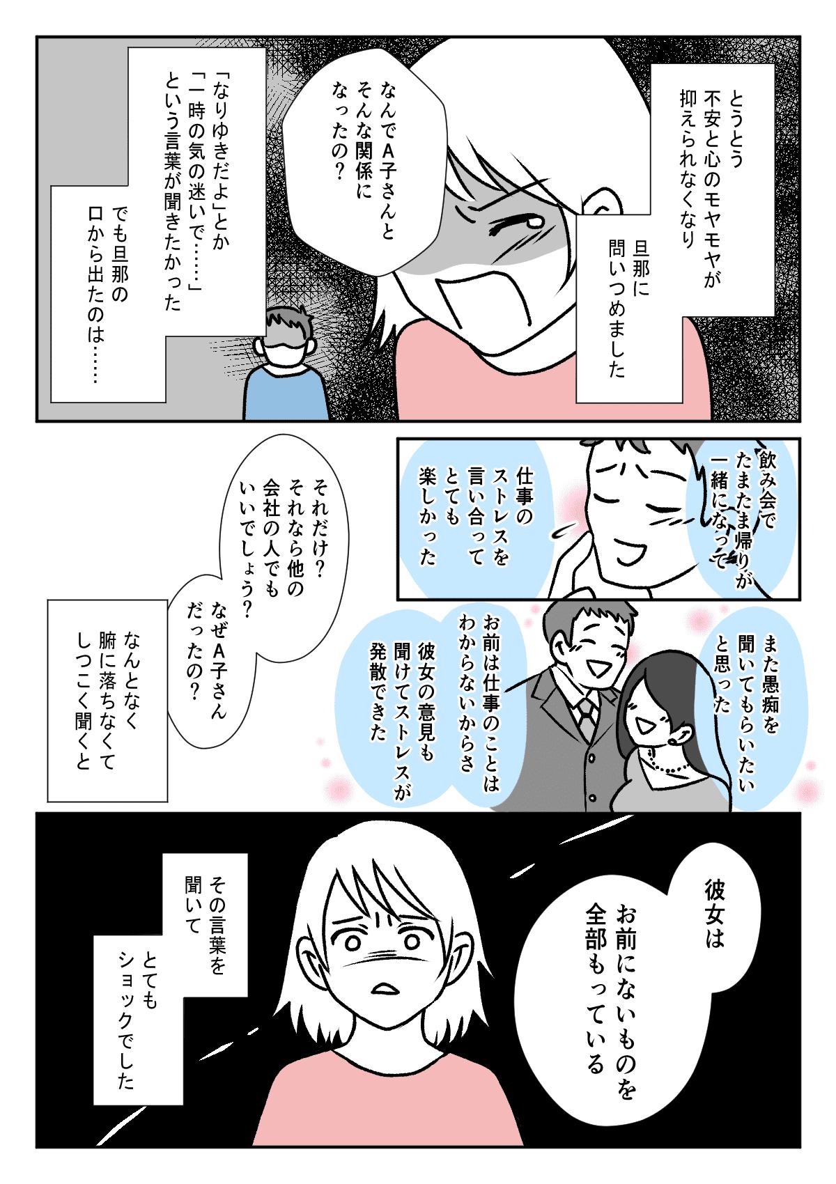 【前編】旦那が浮気未遂!3