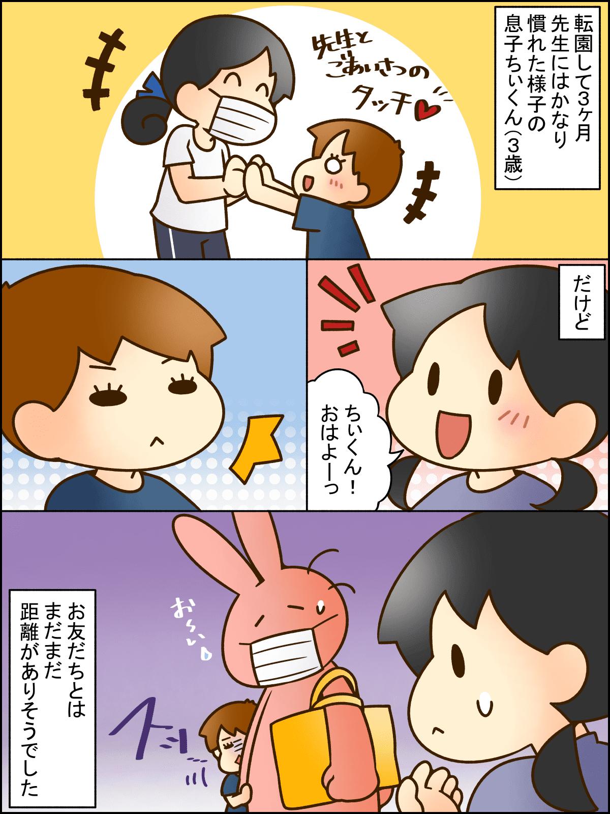 息子のお友達づくりをママがサポート!01